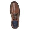 Kožená pánská kotníčková obuv bata, hnědá, 846-4718 - 17