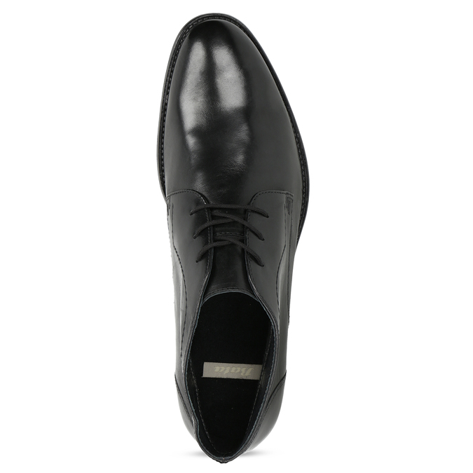 Pánská kožená kotníčková obuv bata, černá, 824-6892 - 17