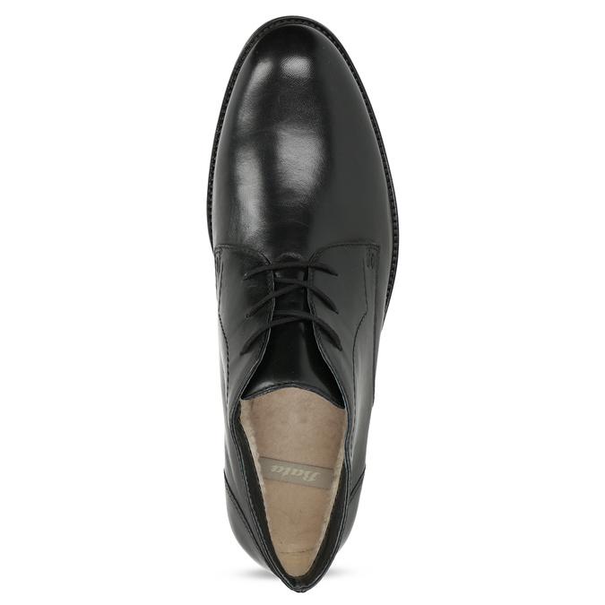 Kožená pánská kotníčková obuv bata, černá, 824-6893 - 17