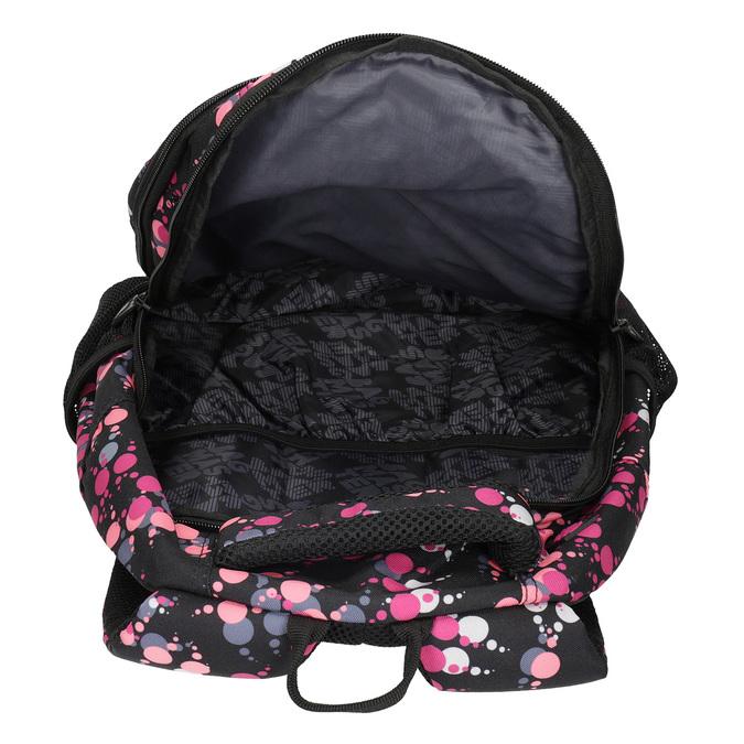 Školní batoh s puntíky bagmaster, růžová, 969-5719 - 15