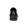 Černé kožené derby polobotky bugatti, černá, 824-6088 - 15