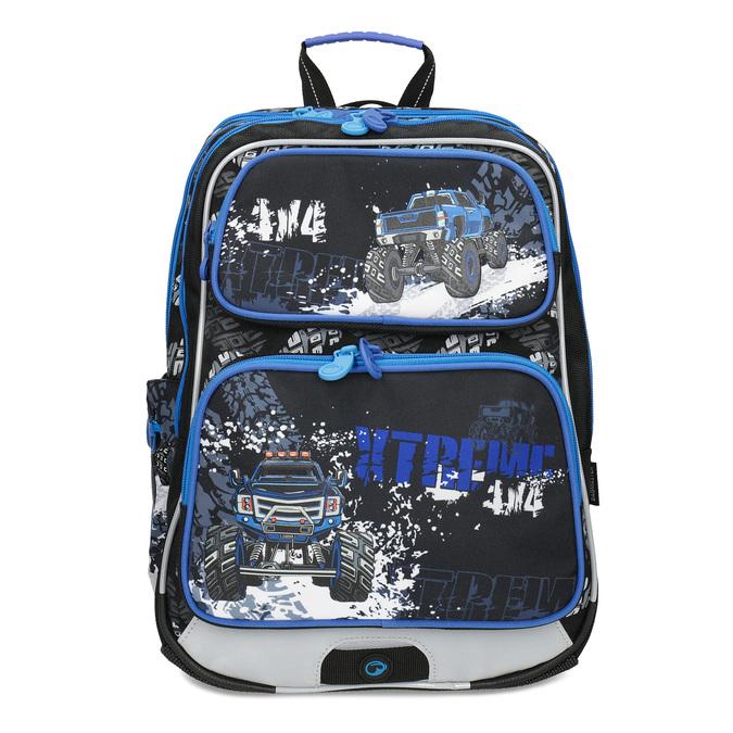 Školní batoh Monster Truck bagmaster, modrá, 969-9713 - 26