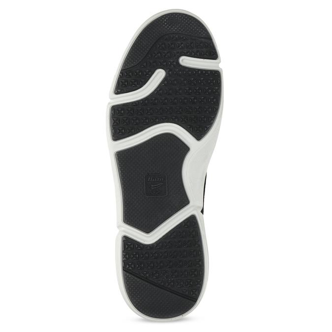 Černé pánské tenisky s prošitím bata-light, černá, 844-6647 - 18