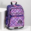 Školní aktovka s koňmi bagmaster, růžová, 969-9726 - 17