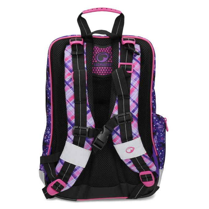 Školní aktovka s koňmi bagmaster, růžová, 969-9726 - 16