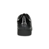 Černé dámské tenisky s kamínky bata-light, černá, 549-6611 - 15