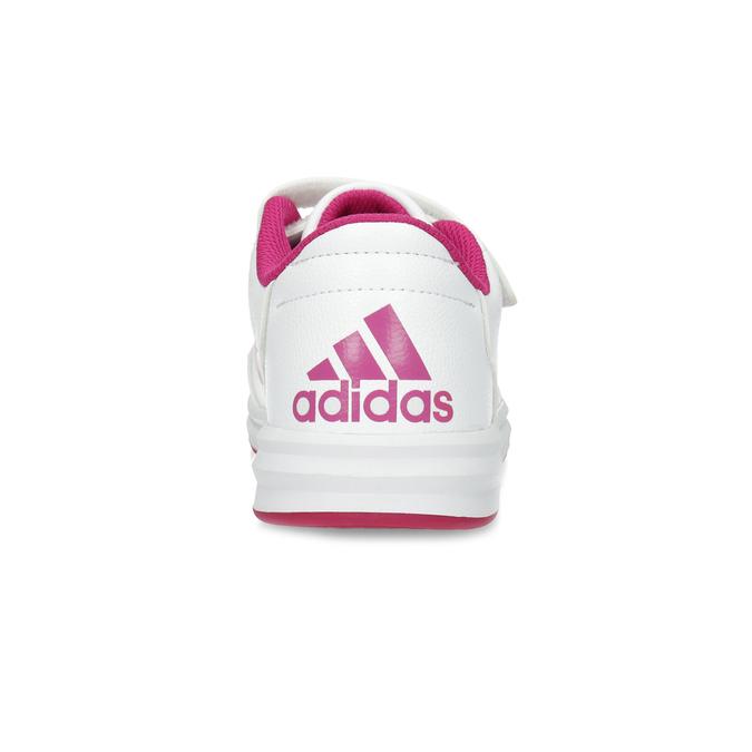Dívčí bílo-růžové tenisky adidas, růžová, 301-5519 - 15
