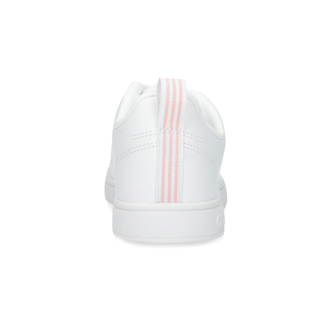 Bílé dámské tenisky s perforací adidas, bílá, 501-1800 - 15