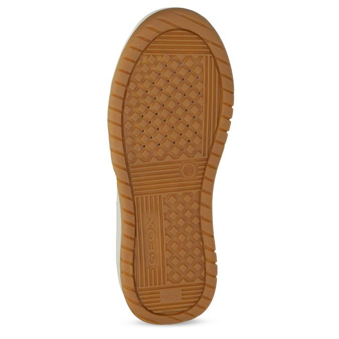 Kožená kotníčková obuv chlapecká geox, černá, 326-6007 - 18
