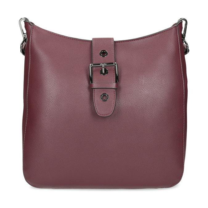 Dámská vínová kabelka s přezkou bata, červená, 961-5870 - 26