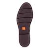 Kožené kotníčková obuv se střapci flexible, červená, 596-5696 - 18