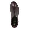 Kožené kotníčková obuv se střapci flexible, červená, 596-5696 - 17