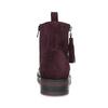 Kožené kotníčková obuv se střapci flexible, červená, 596-5696 - 15