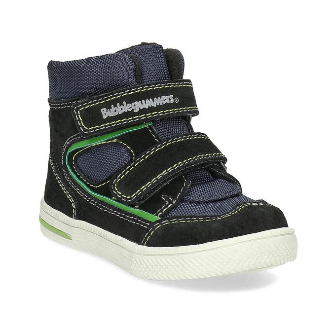 Kotníčková dětská obuv na suché zipy bubblegummers, modrá, 113-9610 - 13