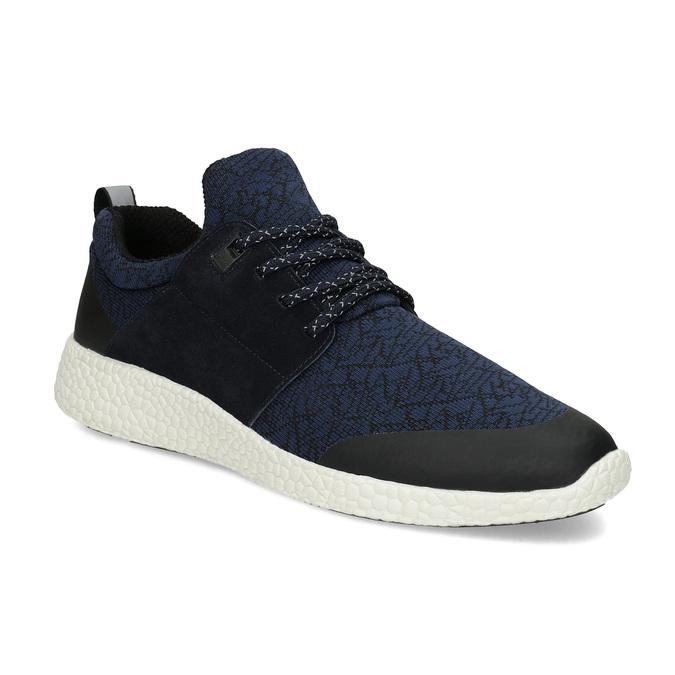Pánské sportovní tenisky modré bata-light, modrá, 849-9634 - 13