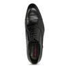 Černé pánské kožené Oxford polobotky conhpol, černá, 824-6645 - 17