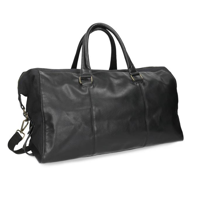 Pánská černá taška s popruhem bata, černá, 969-6230 - 13