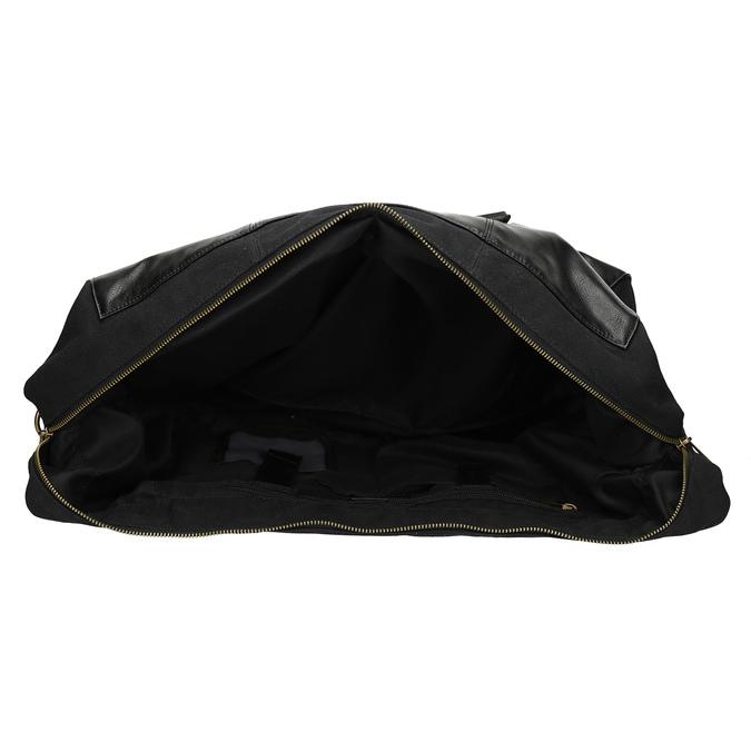 Pánská černá taška s popruhem bata, černá, 969-6230 - 15