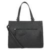Dámská kabelka s mašlí černá gabor-bags, černá, 961-6037 - 16