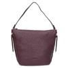 Dámská vínová kabelka se zipy gabor-bags, červená, 961-5050 - 26