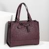 Vínová kabelka s mašlí gabor-bags, červená, 961-5061 - 17