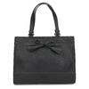 Dámská kabelka s mašlí černá gabor-bags, černá, 961-6037 - 26