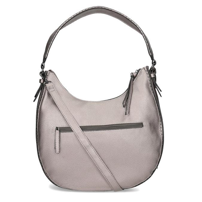 Stříbrná kabelka s ramenním popruhem gabor-bags, bronzová, 961-1044 - 16