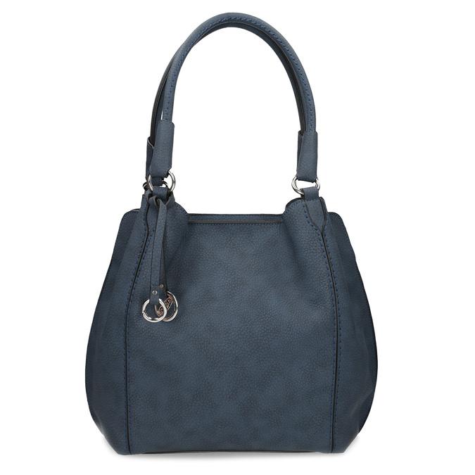 Tmavě modrá dámská kabelka gabor-bags, fialová, 961-9024 - 26