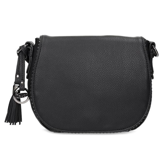 Černá crossbody kabelka s kamínky gabor-bags, černá, 961-6074 - 26