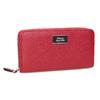 Červená dámská peněženka na zip bata, červená, 941-5223 - 13
