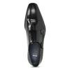 Pánské kožené Monk Shoes polobotky bata, černá, 824-6613 - 17