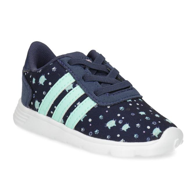 Modré dětské tenisky se vzorem adidas, modrá, 109-9200 - 13