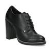Kotníčková dámská obuv se šněrováním insolia, černá, 711-6600 - 13