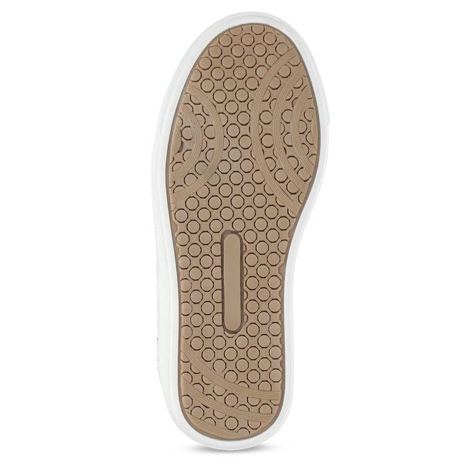 Hnědá kožená dětská kotníčková obuv mini-b, hnědá, 414-3602 - 18