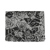 Šátek se vzorem růží černá bata, šedá, 909-2701 - 13