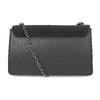 Dámská černá Crossbody kabelka bata, černá, 969-6874 - 16