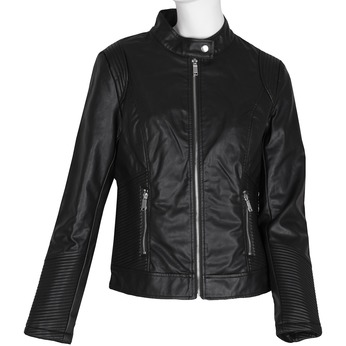 Černá dámská bunda s prošíváním bata, černá, 971-6223 - 13
