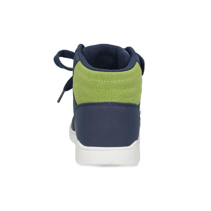Kotníčkové dětské tenisky na suchý zip north-star, modrá, 411-9611 - 15