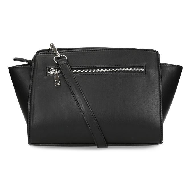 Crossbody kabelka s kovovými cvoky bata, černá, 961-6915 - 16