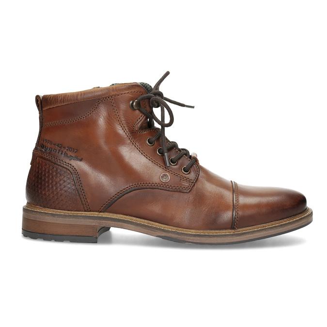 Hnědá kotníčková obuv bugatti, hnědá, 826-3080 - 19