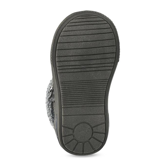 Dětská zimní obuv se zateplením bubblegummers, šedá, 191-4619 - 18