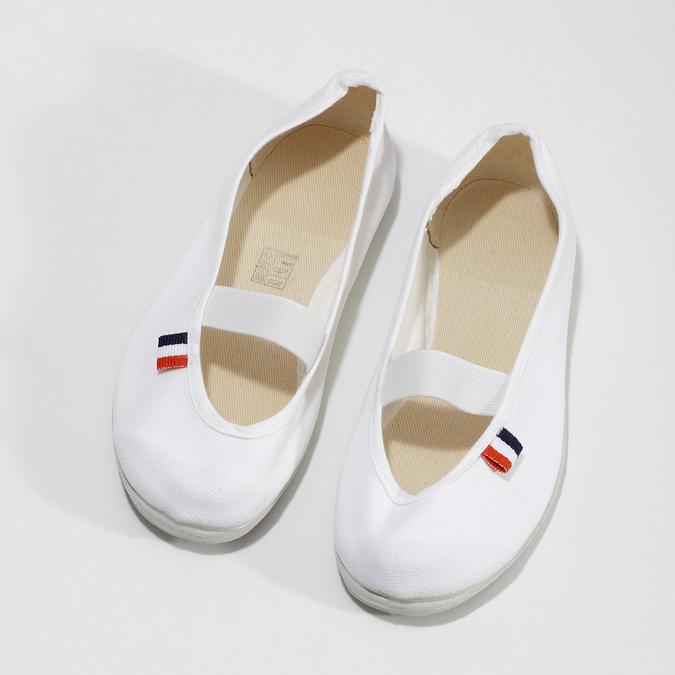 Dětské cvičky bata, bílá, 379-1001 - 16