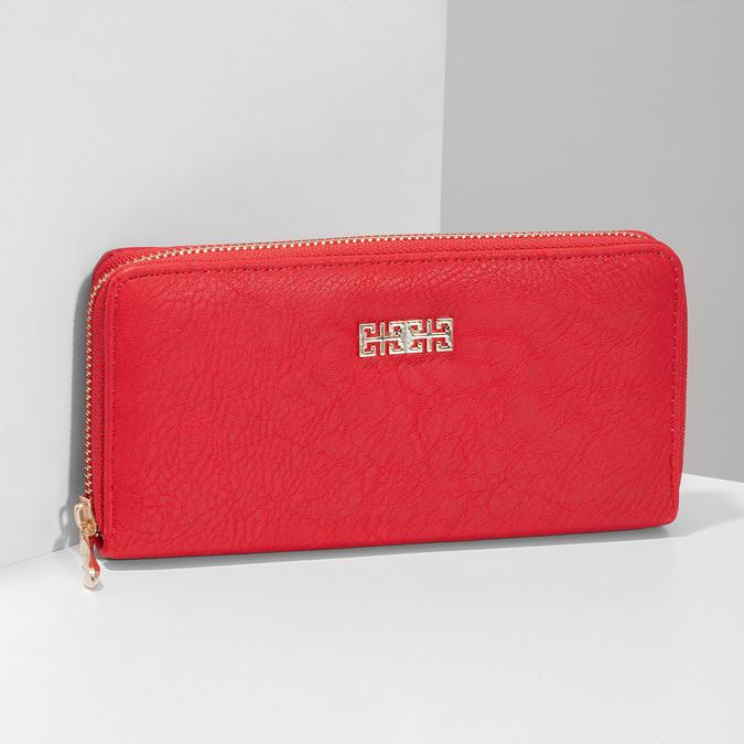 červená dámská peněženka bata, červená, 941-5180 - 17