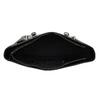 Černá dámská kabelka se stříbrnými zipy bata, černá, 961-6920 - 15