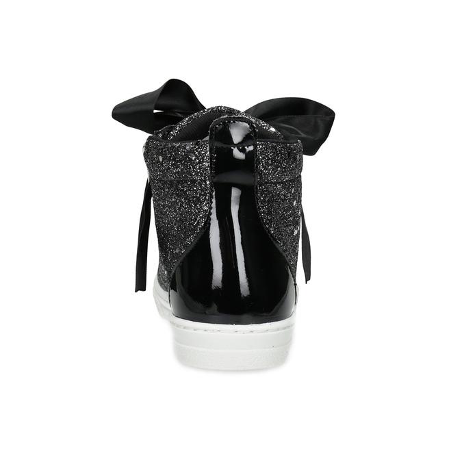 Dívčí kotníčkové tenisky se třpytkami mini-b, černá, 329-6408 - 15