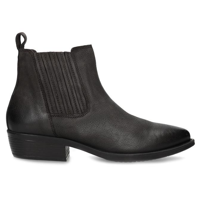 Dámská kotníčková obuv s pružením hnědá bata, hnědá, 596-4969 - 19