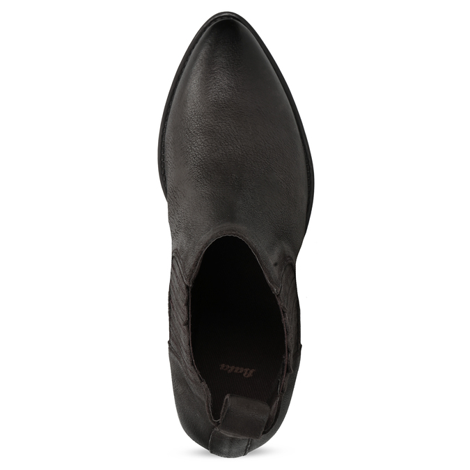 Dámská kotníčková obuv s pružením hnědá bata, hnědá, 596-4969 - 17