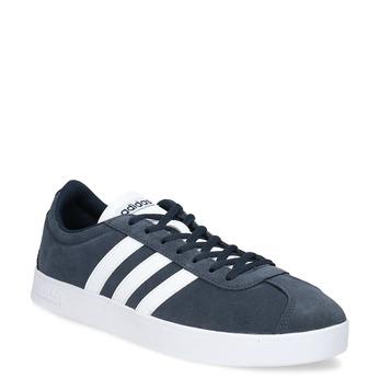 Pánské tenisky z broušené kůže adidas, modrá, 803-9379 - 13