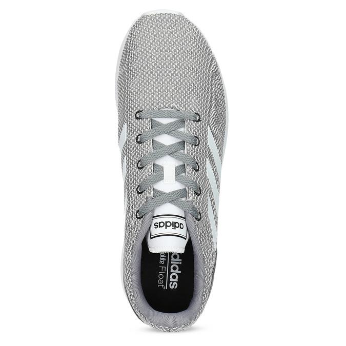 Pánské šedé tenisky s bílými detaily adidas, šedá, 809-2163 - 17