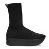 Dámská černá kotníčková obuv vagabond, černá, 719-6050 - 19